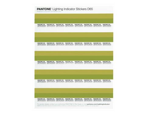 Pantone Lighting Indicator Stickers