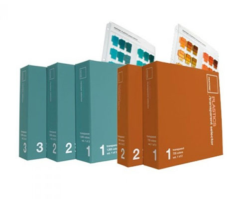 Pantone Plastics Opaque And Transparent Selector (5 klasör)